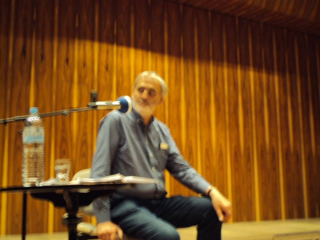 Spiros Deligiannopoulos meets Helmut  Lachenmann