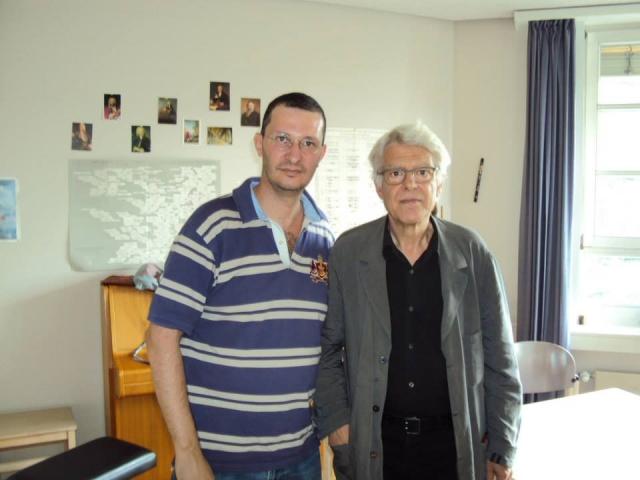 Σπύρος Δεληγιαννόπουλος: Με το Γιώργο Απέργη στο Darmstadt (2014)