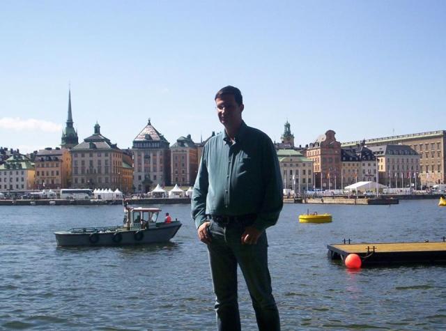 Spiros Deligiannopoulos in Stockholm