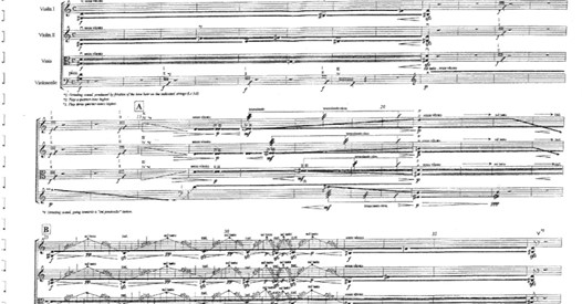 Spiros Deligiannopoulos: String Quartet No 3