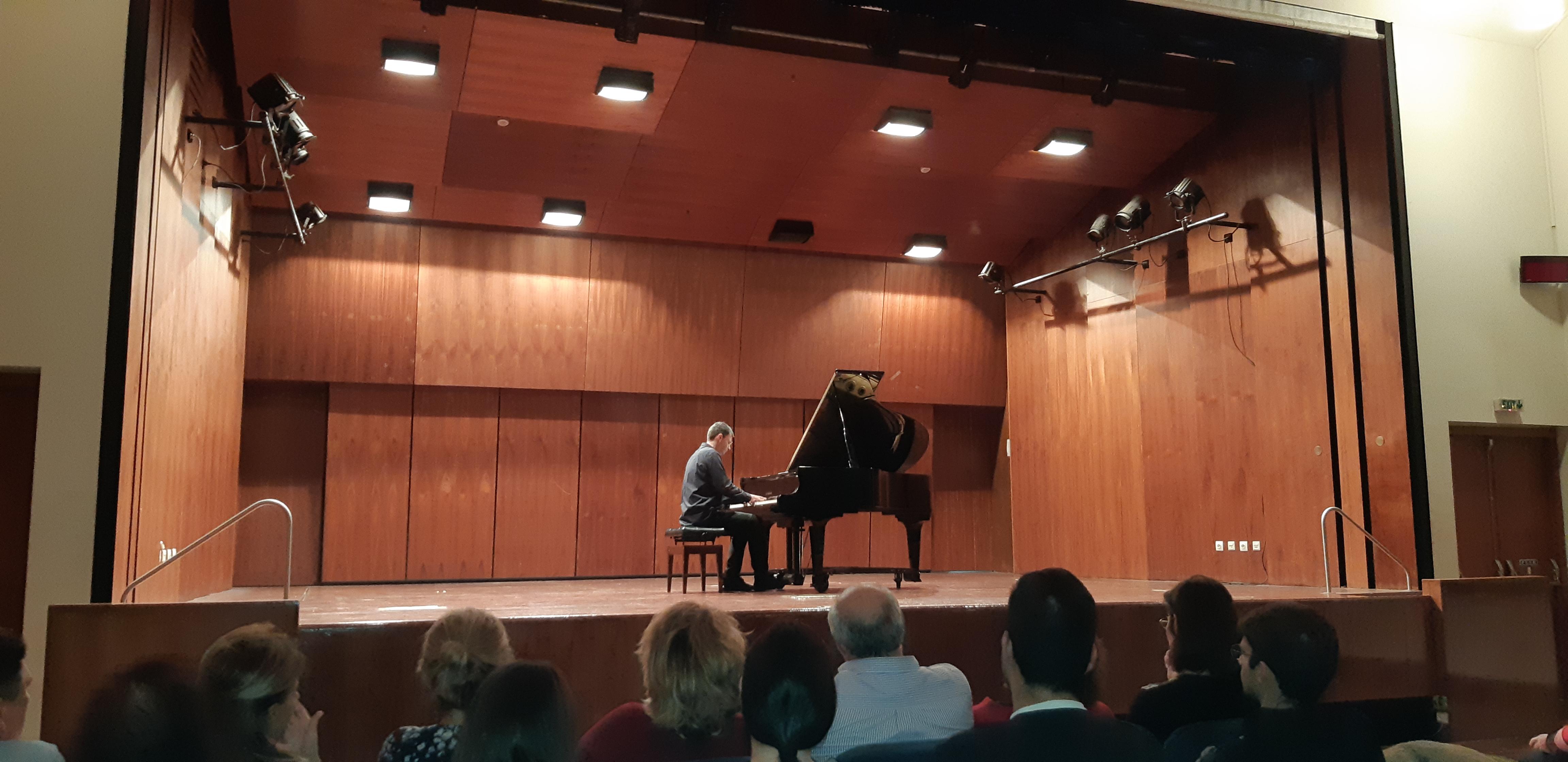 Ρεσιτάλ Πιάνου στην Ιόνιο Ακαδημία 28.10.2018