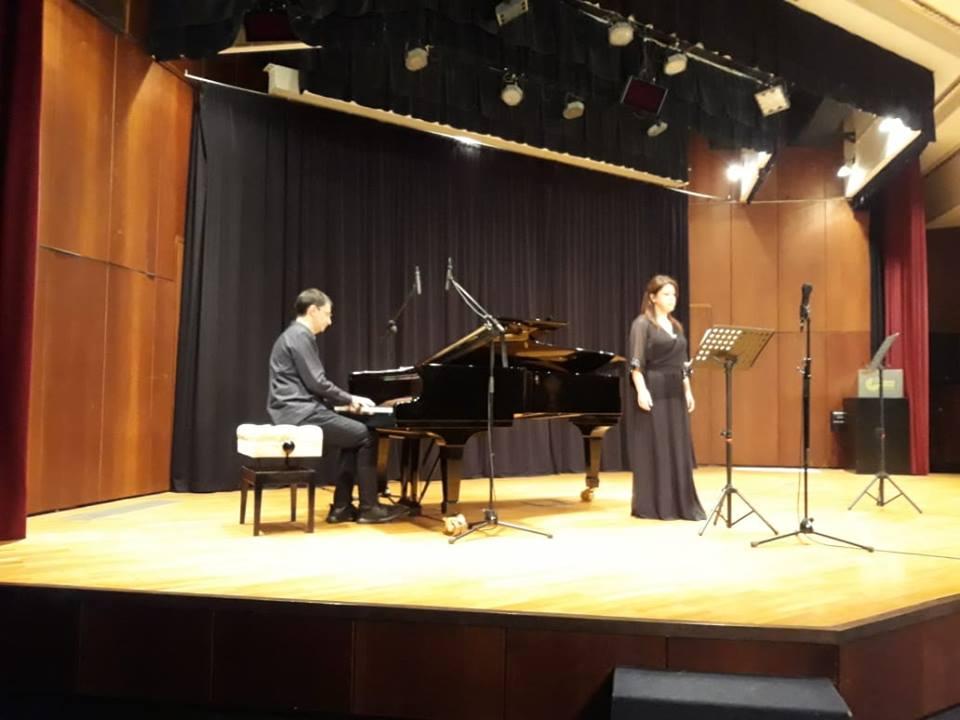 Σπύρος Δεληγιαννόπουλος: από τη συναυλία στο Goethe Athen κατά την παρουσίαση σε πρώτη σύγχρονη εκτέλεση των Lieder του Δημήτρη Λιάλιου