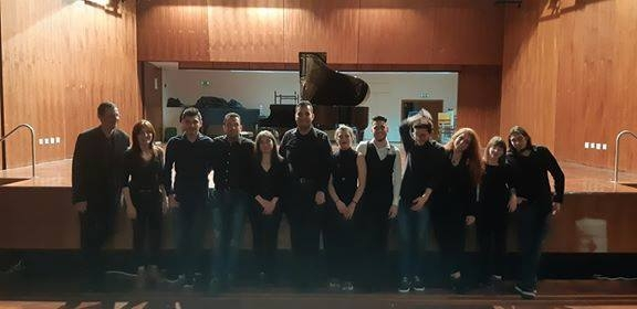 Σπύρος Δεληγιαννόπουλος: Μετά τη συναυλία Ρεπερτόριο Ελλήνων Συνθετών για πιάνο, στην Ιόνιο Ακαδημία, με τους φοιτητές μου!